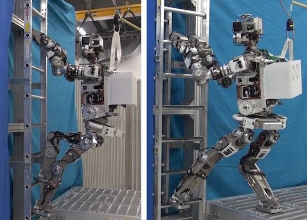 Робот от компании Honda может взбираться по лестнице