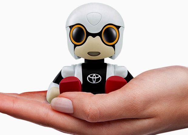Робот-пассажир от Toyota