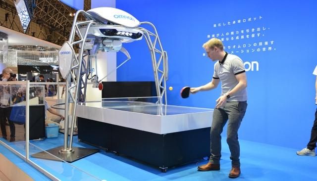 Робот-теннисист будет тренировать людей