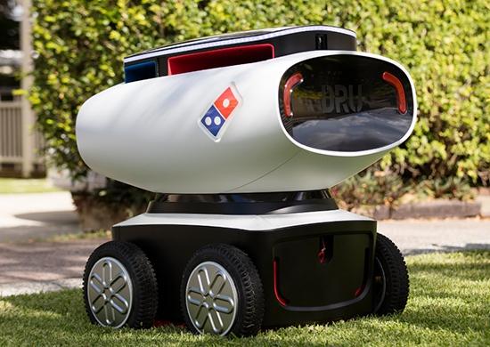Робота для доставки пиццы создали военные