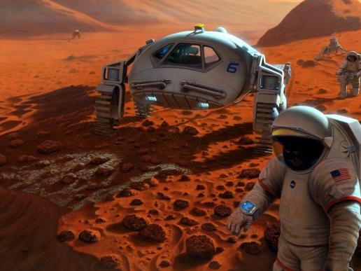 Робота «Валькирия» NASA подготовит к полету на Марс