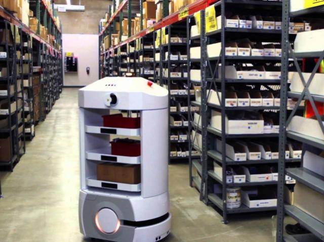 Роботы Adept Lynx могут эффективно работать в сложных складских условиях