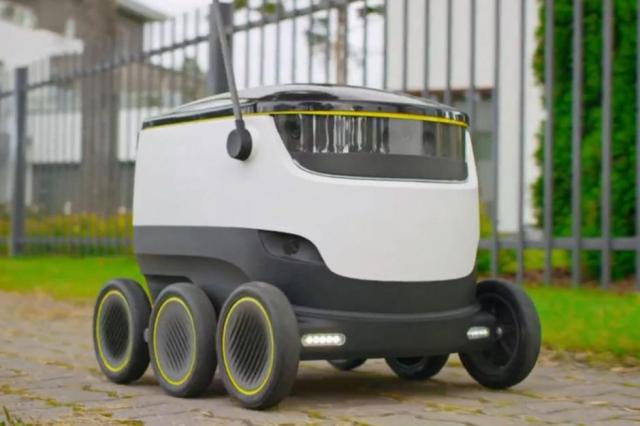 Роботы от разработчиков Skype будут работать курьерами