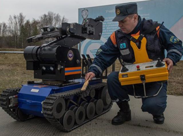 Россия обзавелась роботом, способным «видеть» радиацию