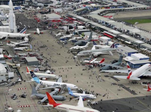 Российские компании потратят 31 млн рублей на авиасалон в Ле-Бурже