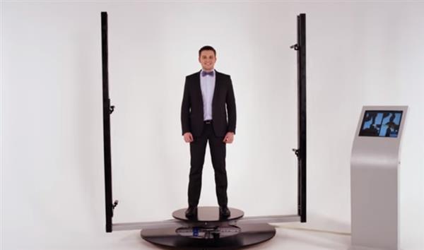 Российский стартап выпустил 3D-кабину, сканирующую до 40 человек в час
