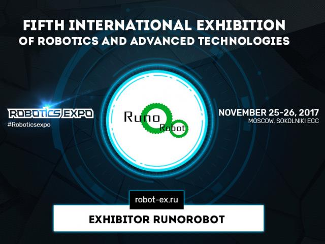 Runorobot will present industrial robots Kawasaki at Robotics Expo