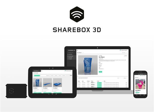 С помощью модуля Sharebox3D 3D-принтером можно будет управлять на расстоянии