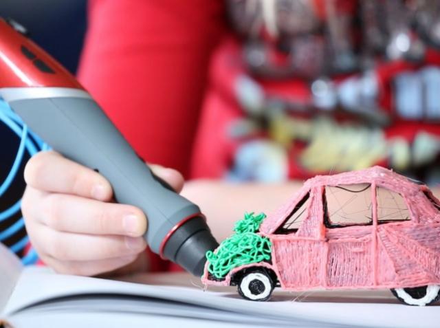 Scribbler представляет уникальную 3D-ручку с двумя соплами
