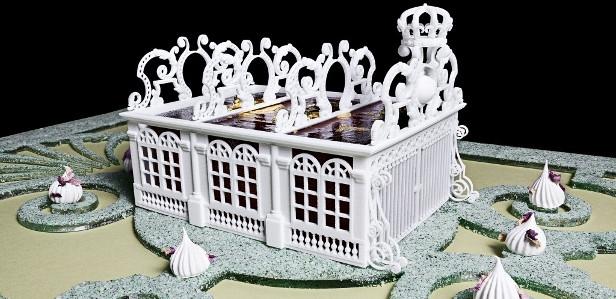 Съедобный макет дворца Версаль напечатан на 3D-принтере ChefJet Pro от 3D Systems (+ видео)