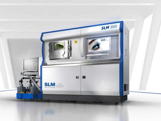 Селективное лазерное плавление (SLM)