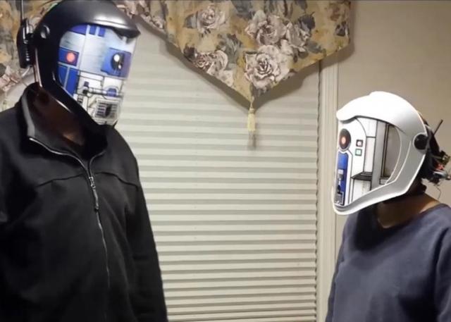Шлемы-переводчики помогут понять язык дроидов из «Звездных войн»