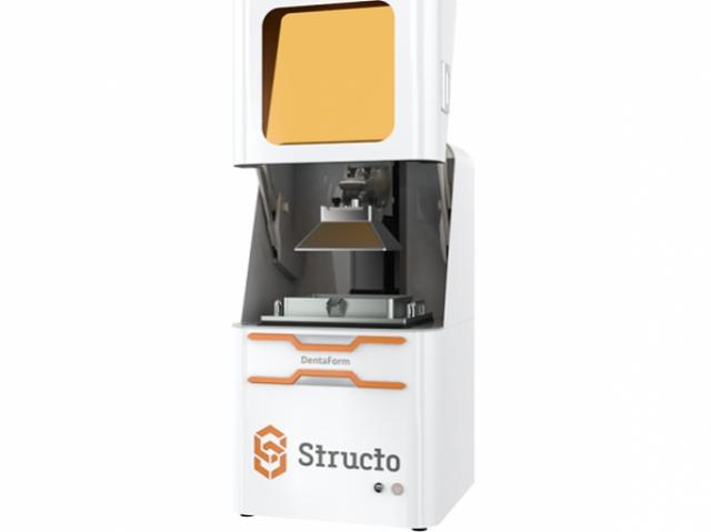 Сингапурская компания Structo презентовала новый 3D-принтер для дантистов