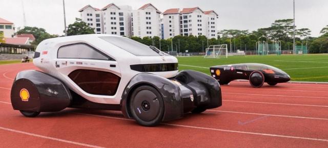 Сингапурские студенты собрали два электромобиля на солнечных батареях, прибегнув к помощи 3D-печати