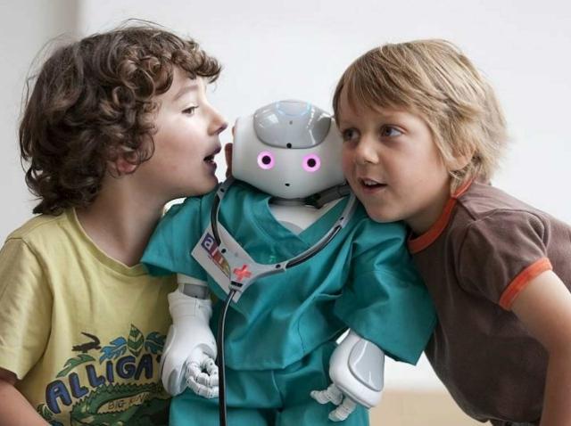 Следующее поколение вырастет в окружении роботов