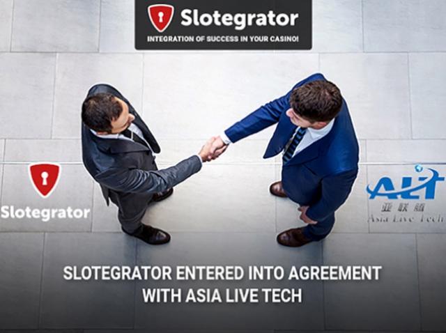 Slotegrator и Asia Live Tech стали партнерами