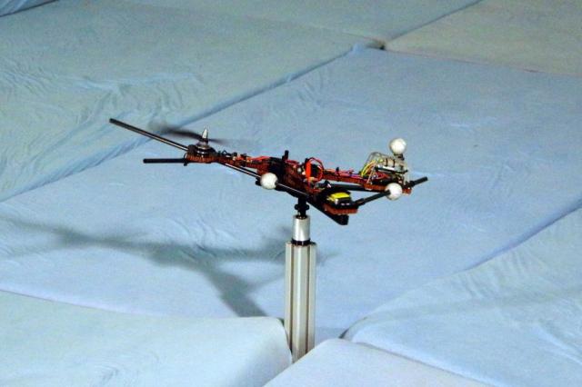 Создан асимметричный беспилотник с одним двигателем