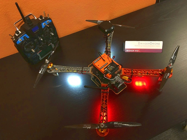 "Danger Drone, the ""flying hacker"""
