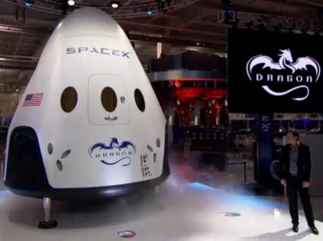 SpaceX разрабатывает космический корабль с 3D-печатными двигателями