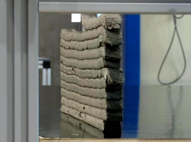 Стартап ConPrint3D разрабатывает идеальный бетон для 3D-принтинга