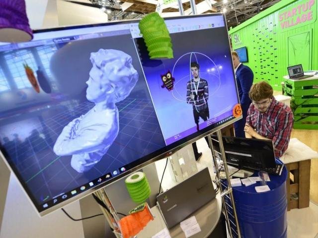 Стартап из Сколково представил скоростной 3D-сканер на выставке в США