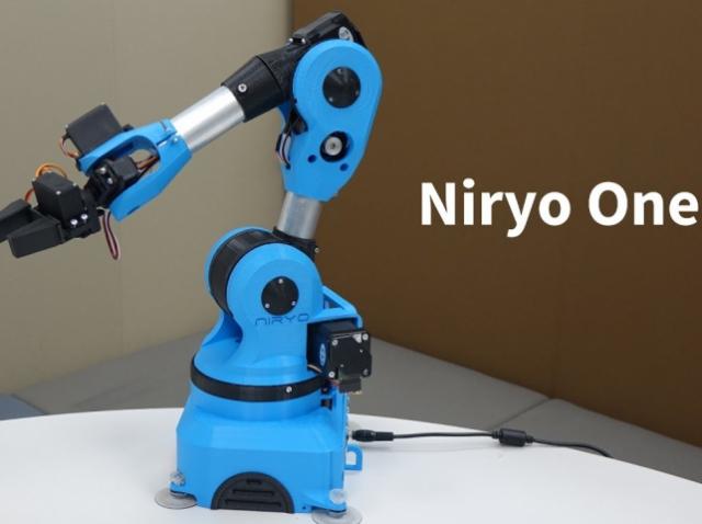 Стартап Niryo выпустит в продажу 3D-печатного робота-манипулятора