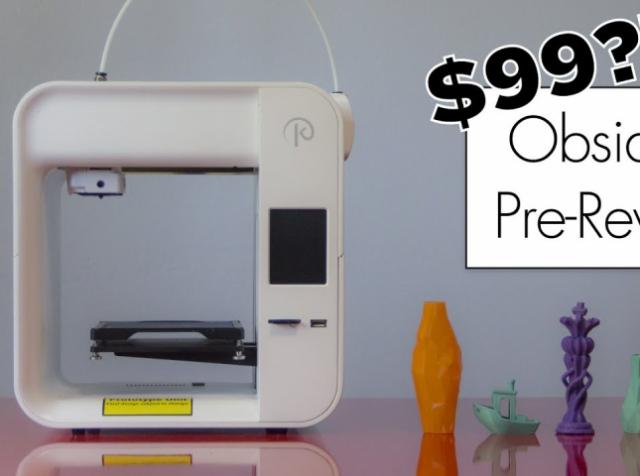 Стартовал приём заказов на 3D-принтеры Obsidian за $99