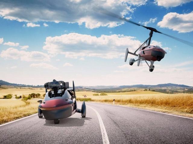 Стартовал приём заказов на автономный летающий автомобиль Liberty