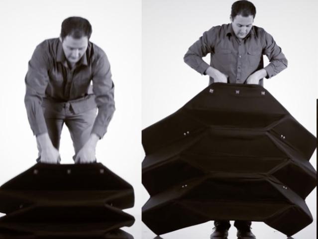 Правоохоронцям США пропонують захищатися орігамі-щитами
