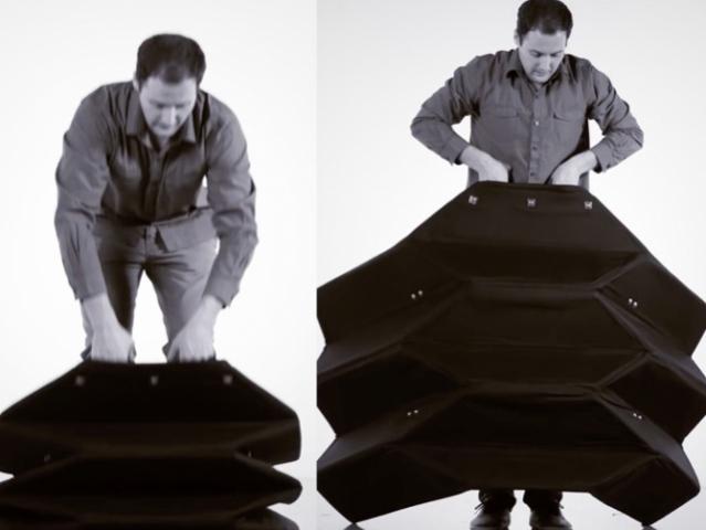 Стражам порядка США предлагают защищаться оригами-щитами