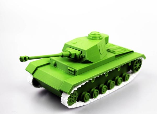 Теперь вы можете собрать модель немецкого танка Panzer Tank IV