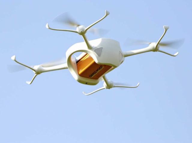 Тестування дронів у галузі медицини