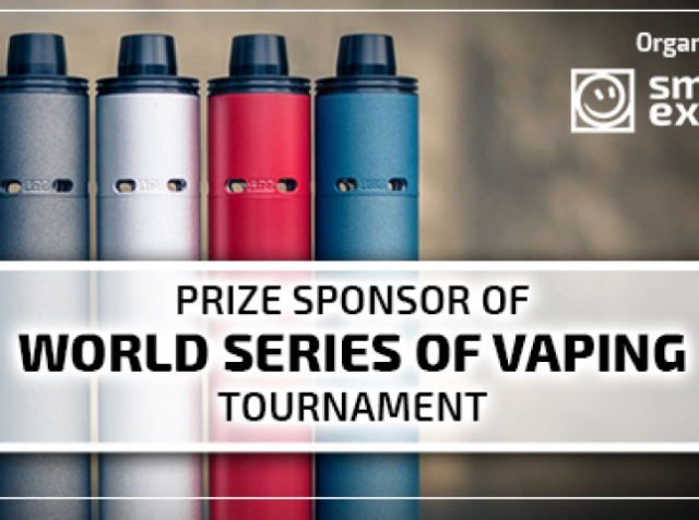 The winner of The World Series of Vaping will not get away with 200K! What presents will SΩI bring to VAPEXPO Moscow 2017?