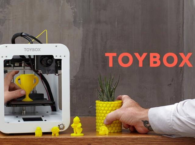 Toybox – детский 3D-принтер для печати игрушек