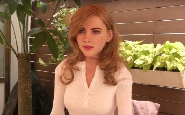 У известной актрисы Скарлетт Йоханссон появился робот-двойник