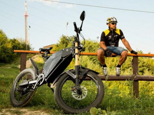 Українські стартапери створили найвитриваліший електробайк у світі