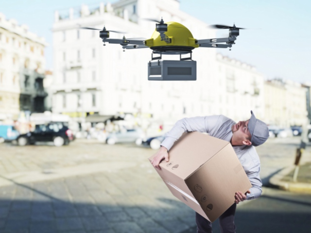 «Укрпошта» планує доставляти посилки за допомогою дронів
