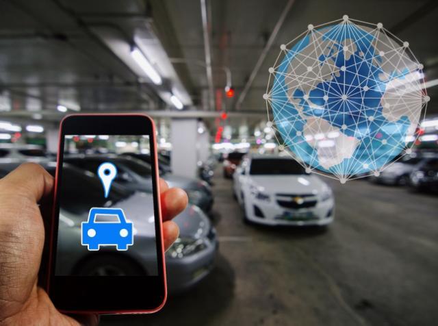 Умные парковки как часть инновационной транспортной инфраструктуры