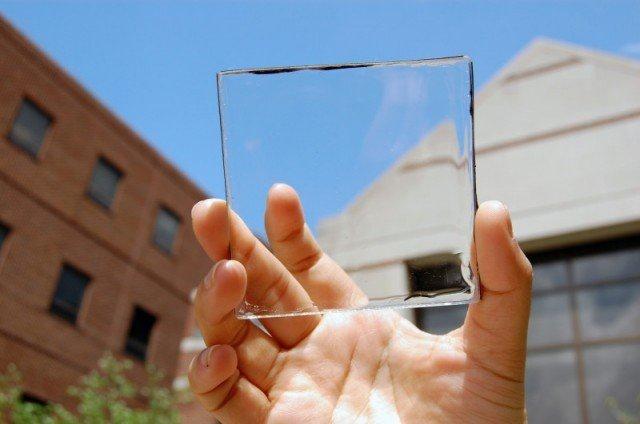 Уникальные стекла: ученые создали прозрачные солнечные батарейки