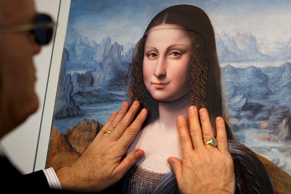 Unique 3D printing tech allows visually impaired to 'see' priceless paintings