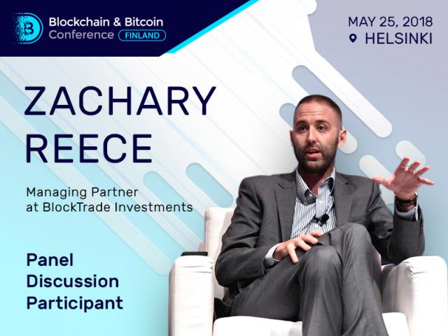 US expert to take part at the Blockchain & Bitcoin Conference Finland panel discussion