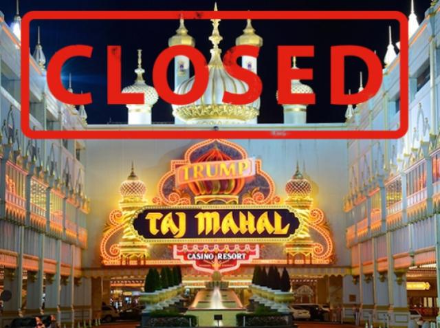 В Атлантик-Сити в сентябре закроется казино Trump Taj Mahal
