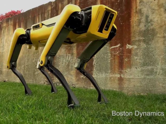 В Boston Dynamics продемонстрировали нового робопса