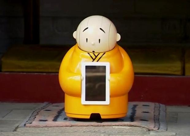 В буддийском храме появился робот-монах