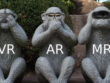В чем разница между VR, AR и MR?