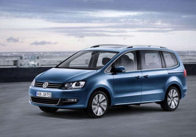 Volkswagen presented the 5th generation Sharan minivan