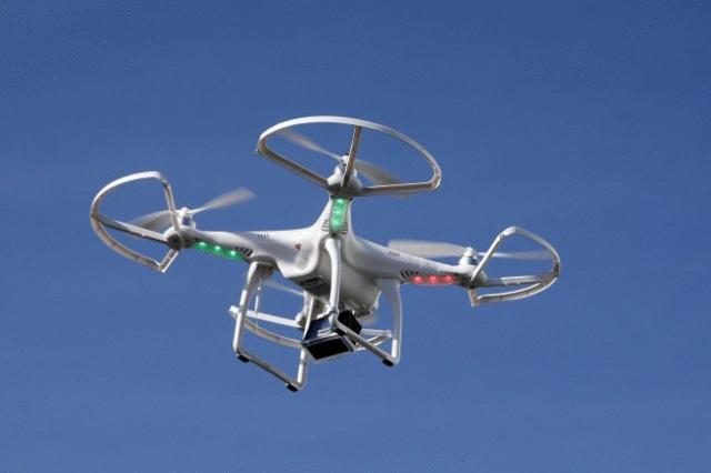 В Киеве дрон-курьер доставил первую посылку