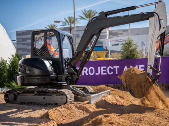 В Лас-Вегасе продемонстрировали 3D-принтинговый экскаватор