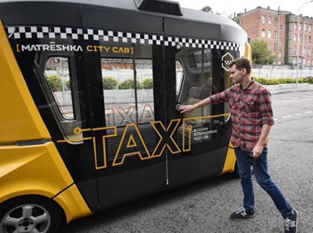 В России появятся беспилотные автобусы «MatrЁshka»
