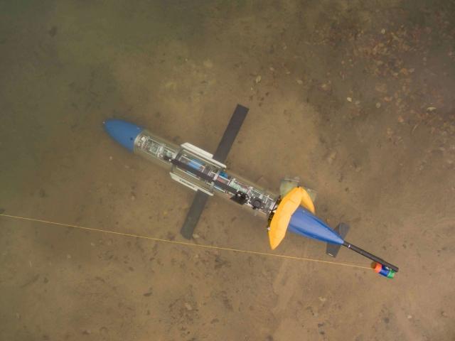 В России выпущен подводный робот-планер для военных